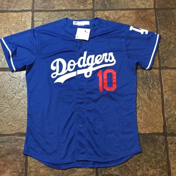 new styles 59a30 a59da Justin Turner *LA Dodgers* Away Jersey Medium NWT